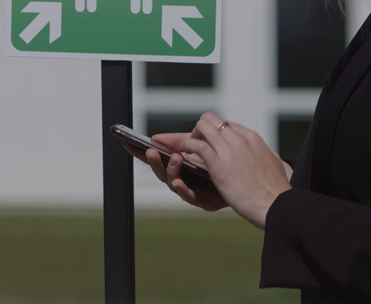 Kelio Mobile Access – fire evacuation