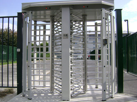 full-height rotor turnstile – access control