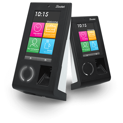 Biometric clocking terminal for Time and Attendance management and Access Control