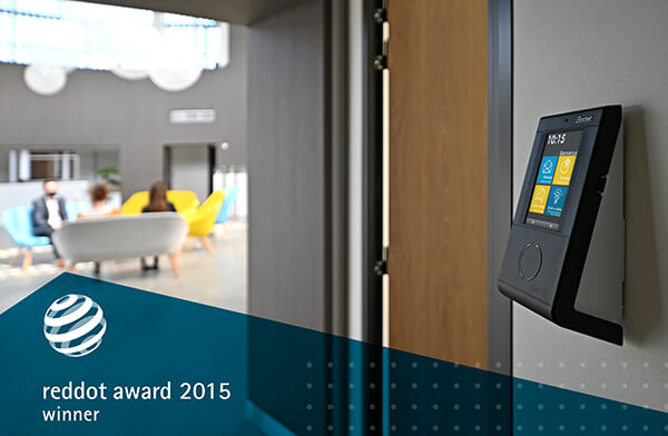 Modernise the image of your organisation with the Kelio Visio clocking terminal, made in France