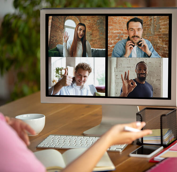 How can daily remote working management be simplified?