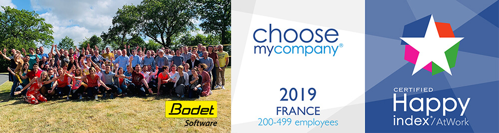 Bodet Software certifié HappyAtWork