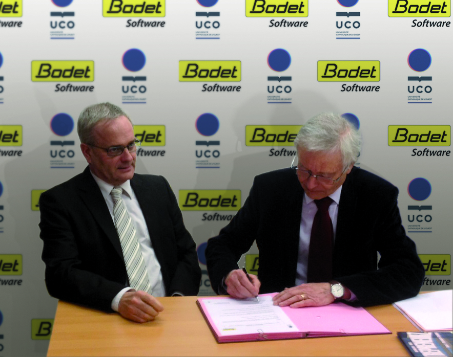 Bodet Software signature convention partenariat UCO chaire RH