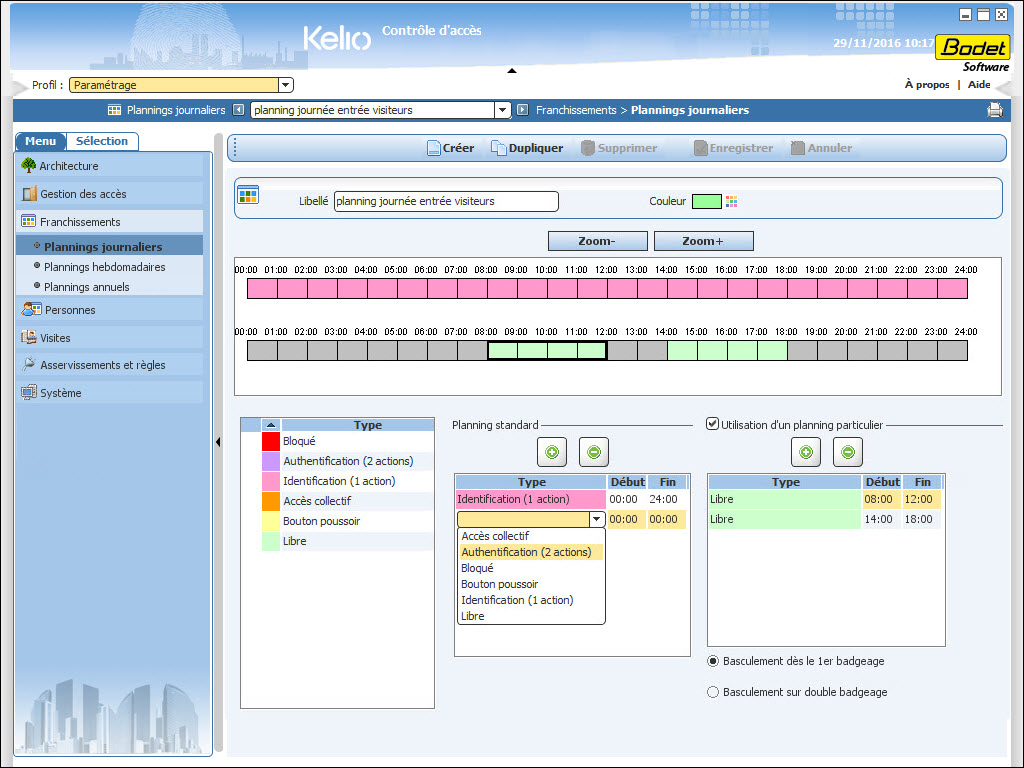 Kelio-Security-planning-journalier